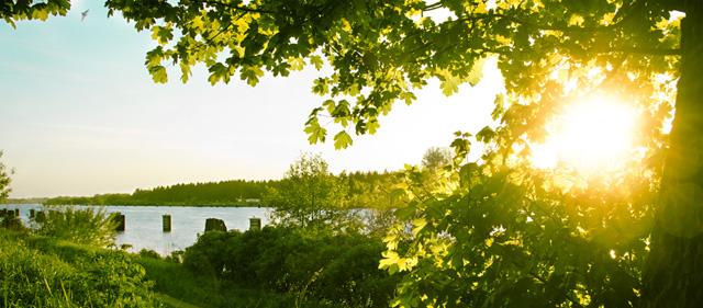 nord-ostsee-kanal-sonne