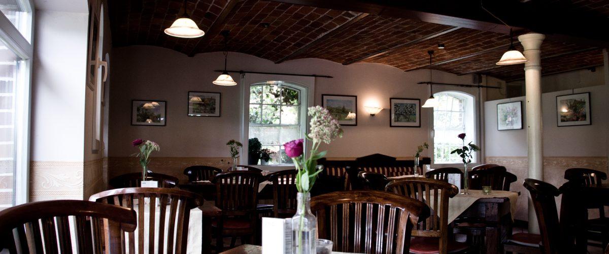 Speisesaal des Cafés Flora