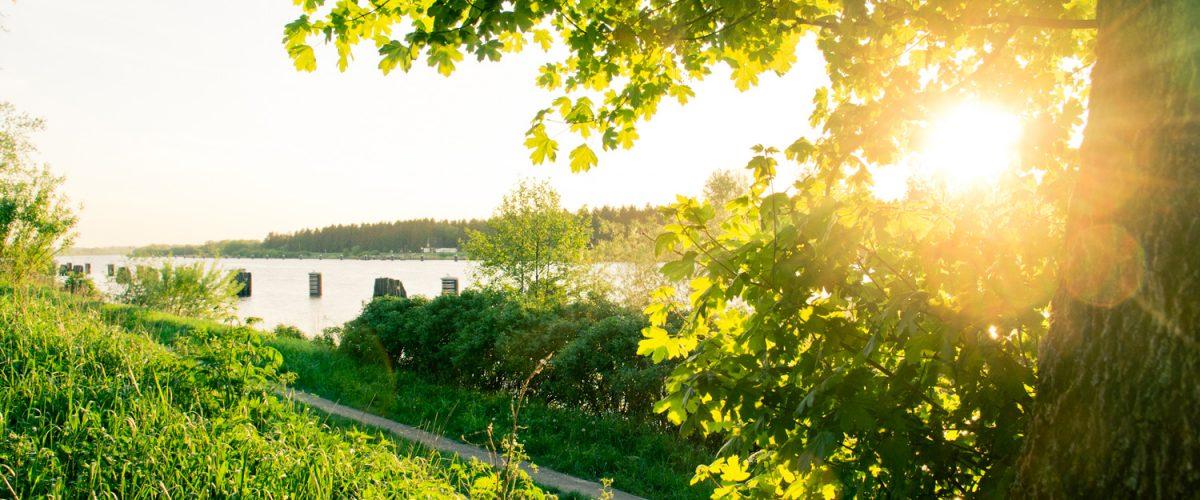 Nord-Ostsee-Kanal sonnig
